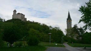 Balzers Schloss Gutenberg und Kirche